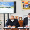 Ceremonial signing of the contract on construction of the Bridge over the Vrbas river in Banja Luka