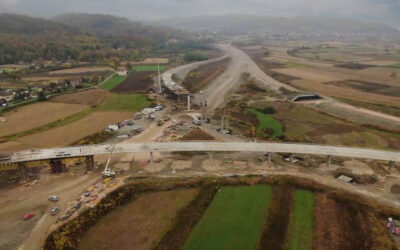 Motorway on Corridor 5C (Johovac – Rudanka): Status of works at the beginning of 2021